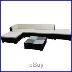 15Pcs Modern Corner Rattan Outdoor Garden Sofa Sets COVER FREE Furniture Patio