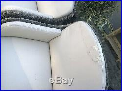 6 seater rattan garden furniture set