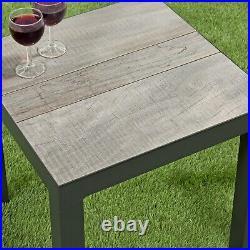 Camilla Rattan Reclining Chairs Garden Furniture Armchair Set Side Table