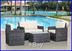 END OF SUMMER STOCK CLEARANCE Rattan Garden Furniture Set Chairs Sofa Outdoor