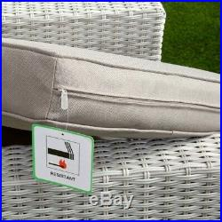 El Paso 5 Seat Rattan Wicker Luxury Sofa Set Chair Garden Patio Furniture