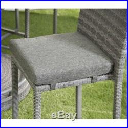 Garden Bar Rattan Wicker 6 Seater Ice Bucket Garden Furniture Guaranteed 5 Years