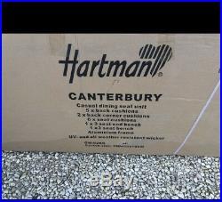 Garden Furniture Set Hartman Canterbury Casual Dining Rattan