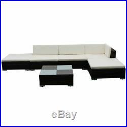 Garden Lounge Set Rattan Corner Sofa Set Patio Table Stool Outdoor Furniture Set