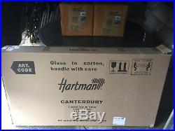 Hartman Canterbury Casual Dining Rattan Garden Furniture Set ORIGINAL HARTMAN