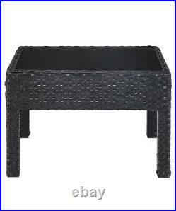 High back rattan corner sofa set And table outdoor garden furniture, Household