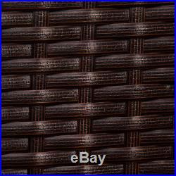 Luxury Patio Rattan Sofa Set Wicker Weave Conservatory Outdoor Garden Furniture