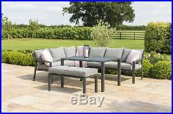 Maze Outdoor Garden Furniture Verona Corner Sofa Dining Set