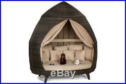 Maze Rattan Garden Furniture Casbah Daybed