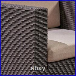 NEW CHRISTOPHER KNIGHT Rattan Garden Furniture Patio Sofa Table Set Z15 CA7