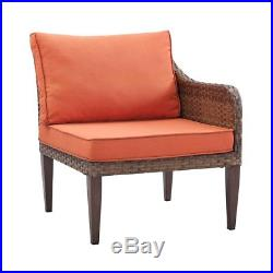 New Brown 6 piece Sofa Garden Furniture Conservatory Rattan Patio Outdoor Home