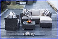 New Rattan Garden Furniture Set Sofa Table Chairs Garden Patio Conservatory