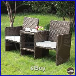 New Venice Rattan 2 Seater Companion Set Garden Furniture