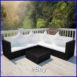 Outdoor Rattan Garden Furniture 1-7 Seater Corner Sofa Set Patio Lounge Set New