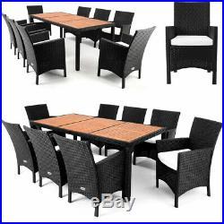 Polyrattan Garden Furniture Dining Table Set Acacia Furniture Table Set Outdoor