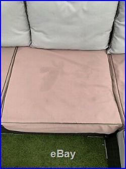 Quatropi 5 Module Garden Furniture In Dark Grey