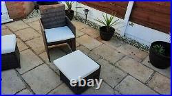 Ratan garden furniture used