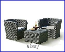 Rattan Bistro Garden Furniture Tete a Tete Set High Quality Fast Delivery