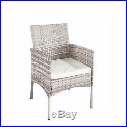 Rattan Chairs Garden Furniture Dining Chairs 4pcs Grey Indoor or Outdoor chairs