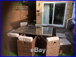 Rattan Garden Furniture 6/10 Seater