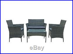 Rattan Garden Furniture Set Conservatory Patio Outdoor Table Chairs Sofa Seat