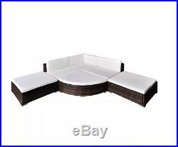 Rattan Garden Sofa Set Corner Furniture Seat Outdoor Large Patio Wicker Lounge